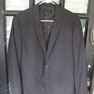Forever 21 Men's Dark Gray Men's Blazer Jacket